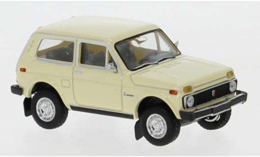 Lada Niva 1/87 Brekina beige diecast model cars