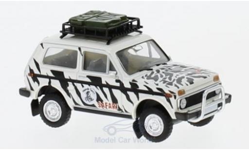 Lada Niva 1/87 Brekina Namib Tours mit Dachgepäck miniature