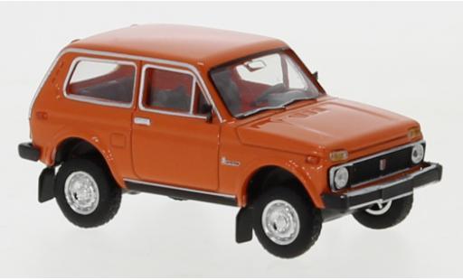 Lada Niva 1/87 Brekina orange 1976 diecast model cars