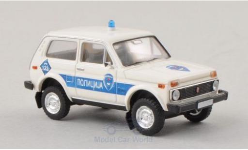 Lada Niva 1/87 Brekina Polizei Bosnien (BIH) miniature