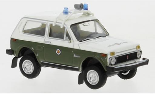 Lada Niva 1/87 Brekina Volkspolizei 1976 2. Version diecast model cars