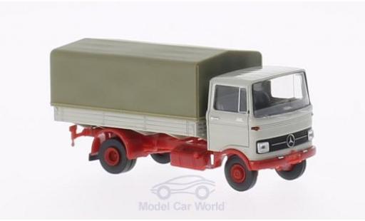 Mercedes LP 608 1/87 Brekina grise PP miniature