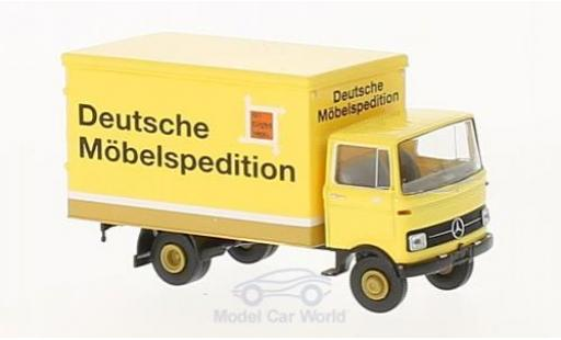 Mercedes LP 608 1/87 Brekina Koffer Deutsche Möbelspedition miniature