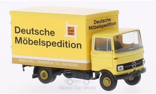 Mercedes LP 608 1/87 Brekina Koffer DMS/Marschall miniature