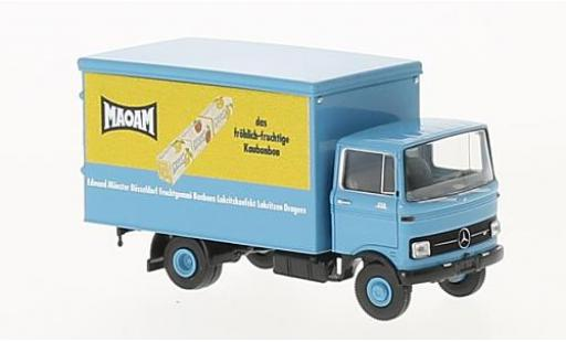 Mercedes LP 608 1/87 Brekina Koffer Maoam miniature