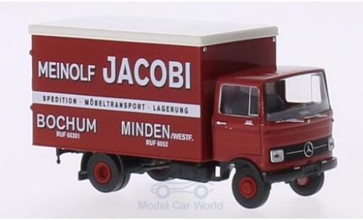 Mercedes LP 608 1/87 Brekina Koffer Meinolf Jacobi Bochum miniature