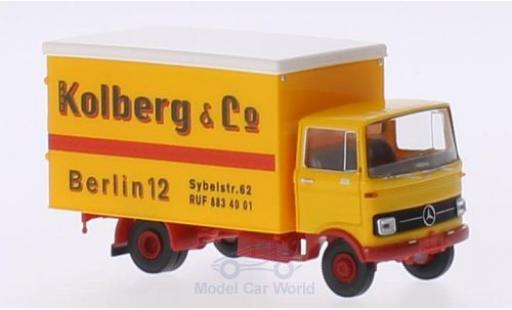 Mercedes LP 608 1/87 Brekina Koffer Paul Kolberg Berlin miniature