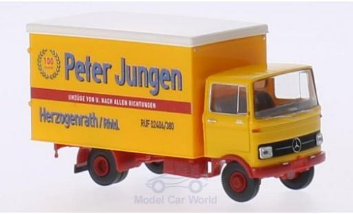 Mercedes LP 608 1/87 Brekina Koffer Peter Jungen Herzogenrath miniature