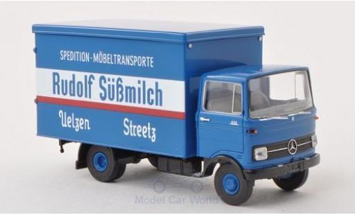 Mercedes LP 608 1/87 Brekina Koffer Rudolf Süßmilch miniature