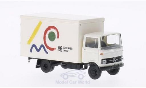 Mercedes LP 608 1/87 Brekina Koffer Schenker Arttrans (modern) miniature