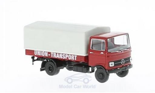 Mercedes LP 608 1/87 Brekina Union Transport Pritsche-Plane miniature