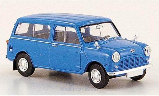 Mini Countryman 1/87 Brekina bleue miniature