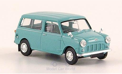 Mini Countryman S 1/87 Brekina turquoise miniature