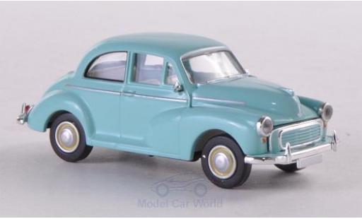 Morris Minor 1/87 Brekina turquoise miniature
