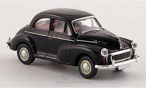 Morris Minor 1/87 Brekina Limousine noire miniature
