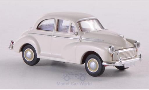 Morris Minor 1/87 Brekina blanche miniature