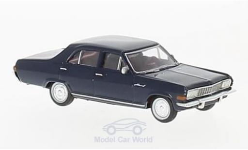 Opel Admiral 1/87 Brekina A bleue miniature