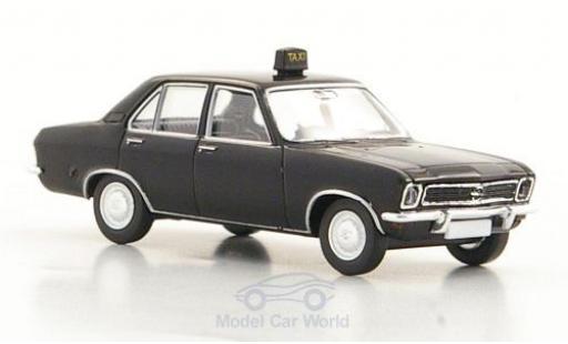 Opel Ascona 1/87 Brekina A Taxi 4-Türer noire miniature
