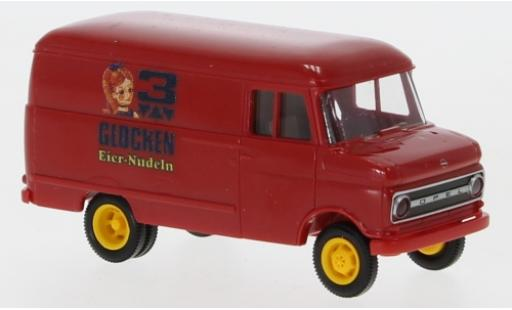 Opel Blitz 1/87 Brekina B Kastenwagen 3 Glocken Eiernudeln 1966 diecast model cars