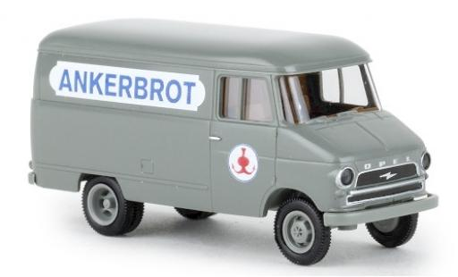 Opel Blitz 1/87 Brekina Kasten A Ankerbrojo 1959 miniatura