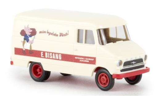 Opel Blitz 1/87 Brekina Kasten A E. Bisang 1959 miniatura