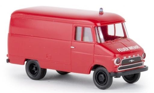 Opel Blitz 1/87 Brekina Kasten A Feuerwehr 1959 diecast model cars