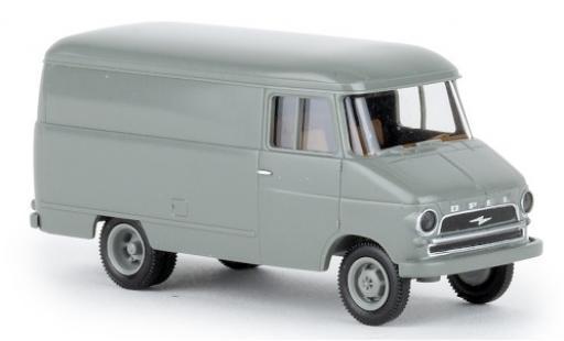Opel Blitz 1/87 Brekina Kasten A gris 1959 coche miniatura