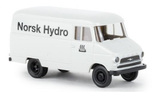 Opel Blitz 1/87 Brekina Kasten A Norsk Hydro 1959 miniatura