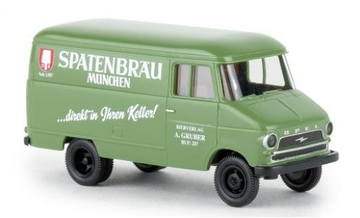 Opel Blitz 1/87 Brekina Kasten A Spatenbräu 1959 miniatura