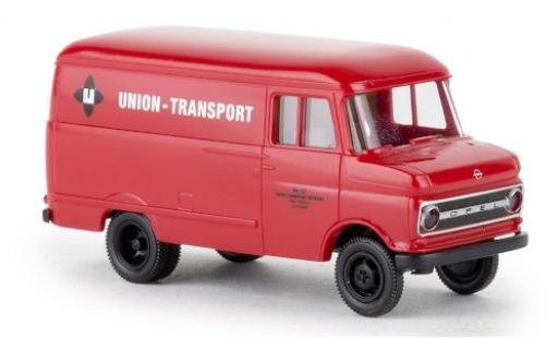 Opel Blitz 1/87 Brekina Kasten B Union Transport 1966 miniature