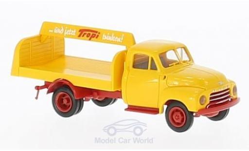Opel Blitz 1/87 Brekina Tropi Getränkeaufbau miniature