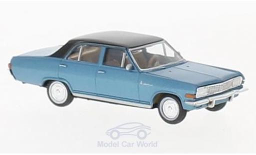 Opel Diplomat 1/87 Brekina A V8 metallise bleue/noire miniature