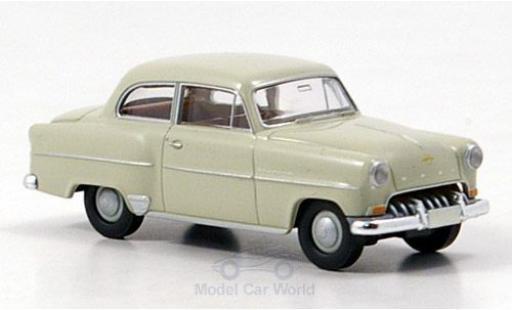 Opel Olympia 1/87 Brekina Rekord beige 1953 miniature