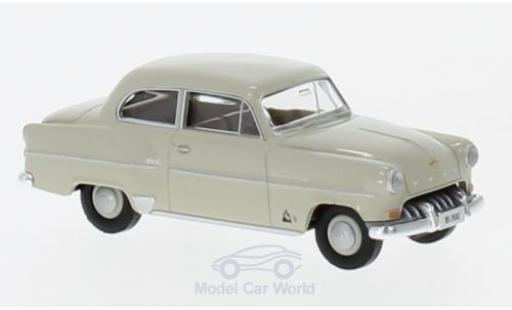 Opel Olympia 1/87 Brekina Rekord beige aus der Schweiz miniature