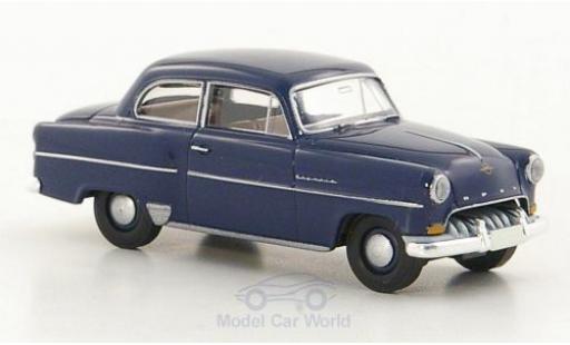 Opel Olympia 1/87 Brekina Rekord dunkelbleue miniature