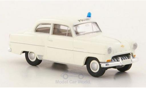 Opel Olympia 1/87 Brekina Rekord Polizei miniature