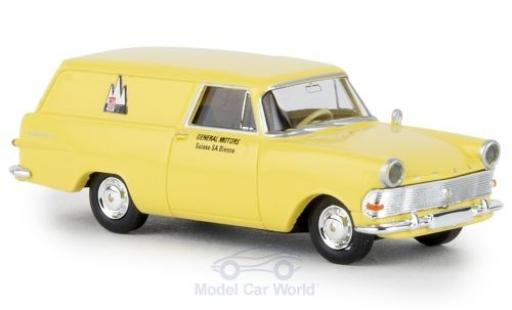 Opel Rekord 1/87 Brekina P2 Kasten GM Suisse TD miniature