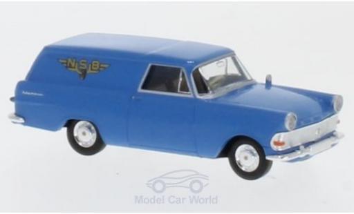Opel Rekord 1/87 Brekina P2 Van NSB (N) miniature