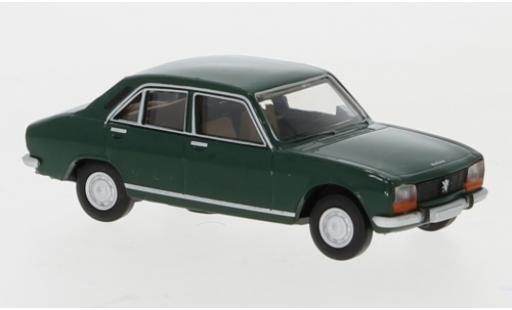 Peugeot 504 1/87 Brekina green 1961 diecast model cars