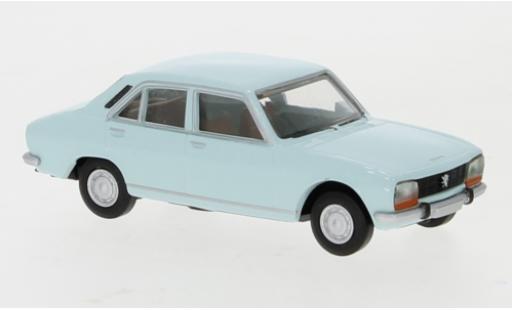 Peugeot 504 1/87 Brekina blue 1961 diecast model cars