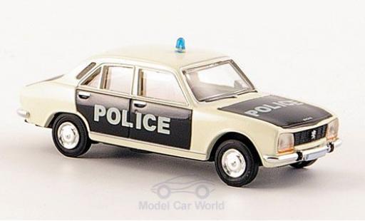 Peugeot 504 1/87 Brekina Limousine Police Polizei (F) miniature