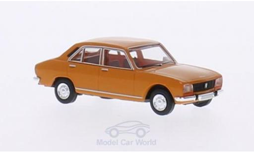 Peugeot 504 1/87 Brekina orange miniature