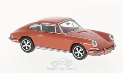 Porsche 911 SC 1/87 Brekina metallise rose miniature