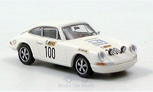 Porsche 911 1/87 Brekina No.100 Tour de France 1971 diecast model cars