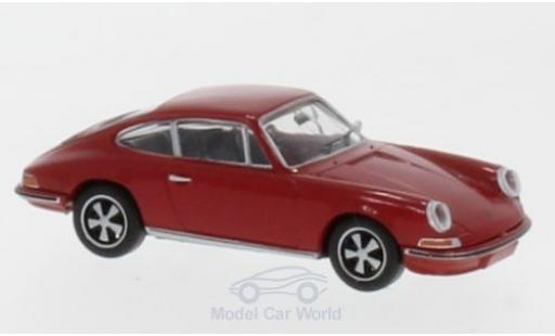 Porsche 911 1/87 Brekina red diecast model cars