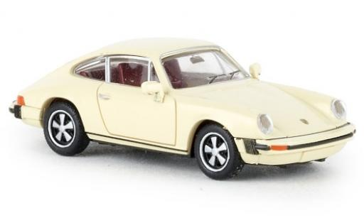 Porsche 912 1/87 Brekina G beige 1976 miniatura