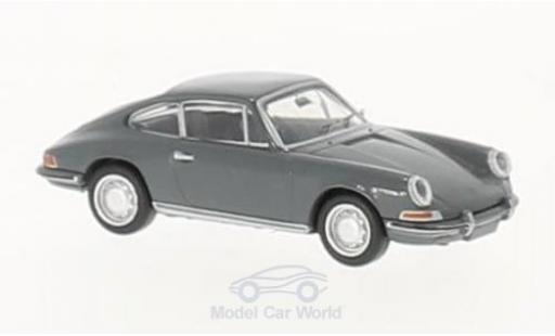 Porsche 912 1/87 Brekina grise miniature