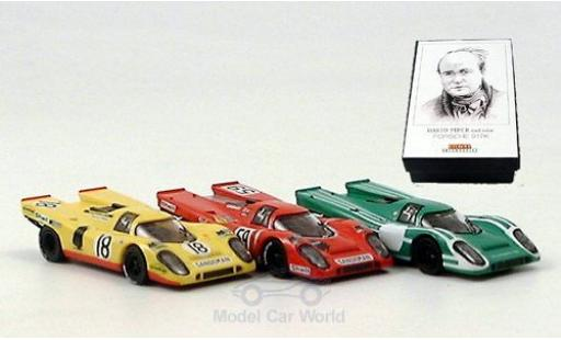 Porsche 917 1/87 Brekina K 3er-Set D.Piper diecast model cars