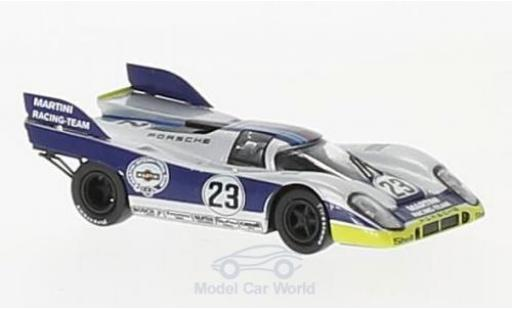 Porsche 917 1971 1/87 Brekina K No.23 Martini Racing Team Martini 1000 Km Spa H.Marko/G.van Lennep diecast model cars