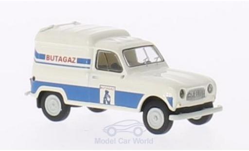 Renault 4 1/87 Brekina R Fourgonnette Butagaz miniature